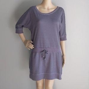 Jessica Simpson Active Wear  Striped  Dress   L